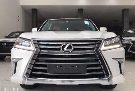 Bán xe siêu lướt LX570 màu trắng nội thất da bò đăng ký tên cty t7/2020 lướt có 6200Km  giá 7 tỷ 960 tr tại Hà Nội
