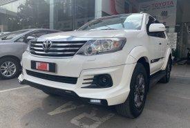 Bán Toyota Fortuner TRD 2 Cầu đời 2015, màu trắng Siêu Chất chạy 50.000km Giá sập sàn giá 750 triệu tại Tp.HCM
