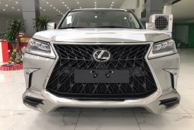 Gía xe  Lexus LX570 Super Sport S 2021 Nhập Khẩu Trung Đông Màu Vàng Cát giá 8 tỷ 980 tr tại Hà Nội