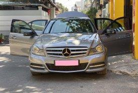 Gia đình mình cần bán Mercedes C200 2013, tự động, màu xám giá 552 triệu tại Tp.HCM