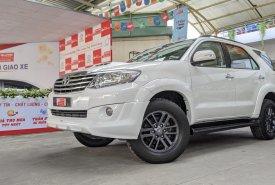 Cần bán lại xe Toyota Fortuner 2.4G sản xuất 2016, màu trắng giá 690 triệu tại Tp.HCM