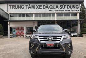 Cần bán xe Toyota Fortuner 2.4G đời 2017, màu xám giá 890 triệu tại Tp.HCM