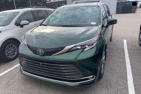 Bán xe Toyota Sienna Platinum sản xuất  2021 nhập Mỹ  giá 4 tỷ 300 tr tại Hà Nội