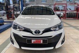 Cần bán gấp Toyota Vios 1.5G 2018, màu trắng giá 550 triệu tại Tp.HCM