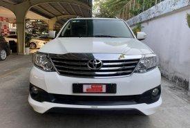 Cần bán gấp Toyota Fortuner 2.7V TRD đời 2015, màu trắng, trang bị đủ option, giá chỉ 760 triệu giá 760 triệu tại Tp.HCM