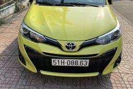 Bán xe Yaris G sx 2019, màu vàng, như mới giá 645 triệu tại Tp.HCM