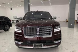 Bán xe Lincoln Navigator L Black Label, màu đỏ mận, sản xuất 2021 mới 100%, xe có sẵn giá 8 tỷ 400 tr tại Hà Nội