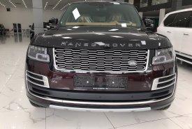 Giao ngay LandRover Range Rover SV Autobiography L Sản xuất 2021 Mới 100% Màu Đỏ nóc Đen nội thất Nâu da bò bản mới nhất giá 12 tỷ 600 tr tại Hà Nội