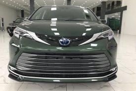 Cần bán xe Toyota Sienna Platinum sản xuất 2021, màu xanh lục, nhập khẩu Mỹ giá 4 tỷ 260 tr tại Hà Nội