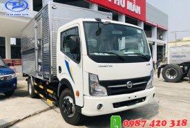 Xe tải Nissan 3T5 thùng kín inox 4m3, hỗ trợ trả góp đến 80% giao xe ngay giá 120 triệu tại Bình Dương