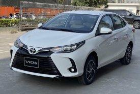 Bán xe Toyota Vios 1.5G CVT đời 2021, màu trắng,  581 triệu giá 581 triệu tại Tp.HCM