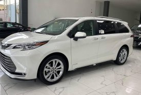 Bán Toyota Sienna Platinum 2.5 AWD, sản xuất 2021 Nhập Mỹ mới 100%, xe giao ngay giá 4 tỷ 290 tr tại Hà Nội