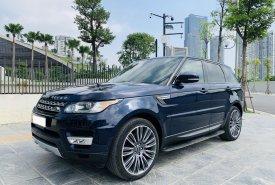 Bán ô tô LandRover Range Rover Sport HSE đời 2015, màu xanh lam, nhập khẩu chính hãng giá 3 tỷ 80 tr tại Hà Nội
