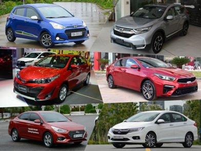 Xem nhanh 10 ô tô bán chạy nhất Việt Nam tháng 5/2019: Ford Ranger trở lại